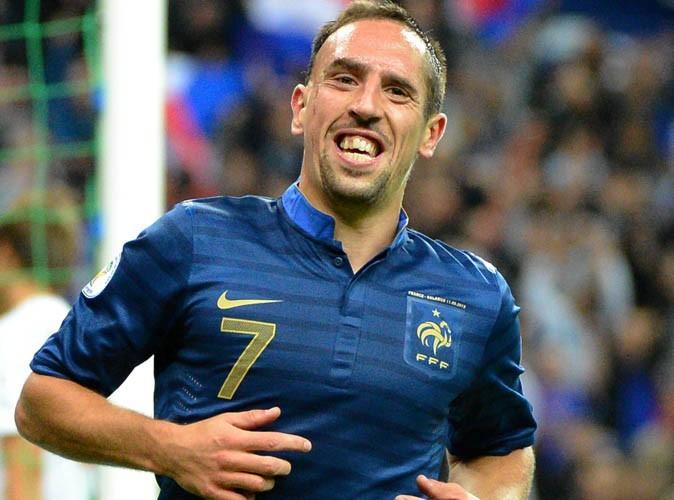 Foot: Ribéry dit adieu aux Bleus