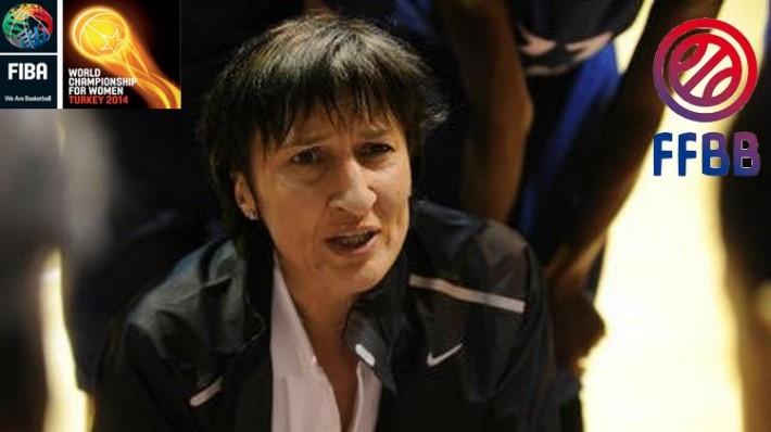 Valérie Garnier_coach equipe de france de basket feminin