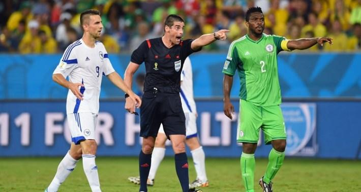 World Cup Nigeria v Bosnia-Herzegovina