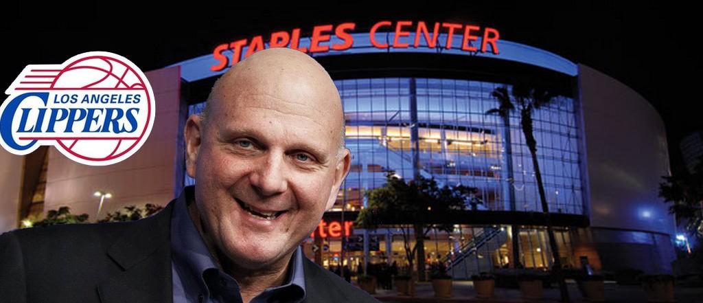 steve ballmer veut acheter le staples center