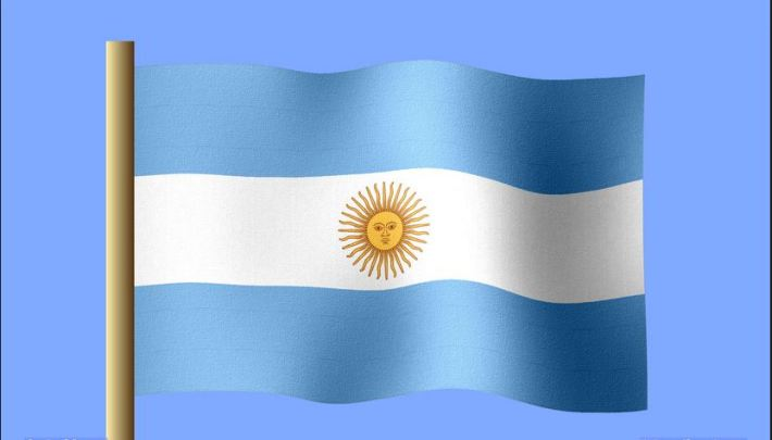 Drapeau argentin nvo