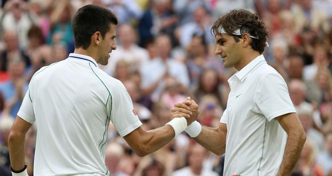 Wimbledon Federer-Djokovic