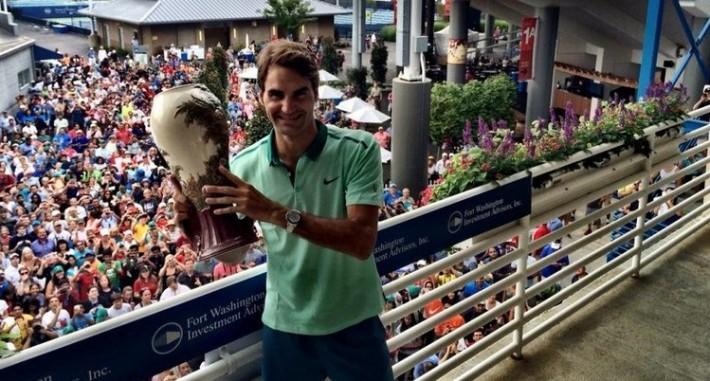 roger federer vainqueur du masters 1000 de cincinnati 2014
