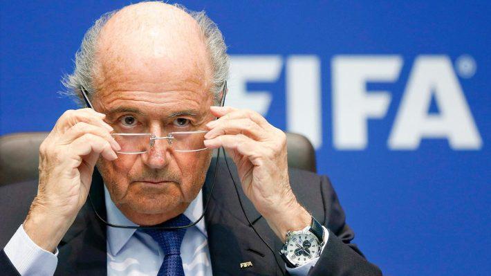 Blatter montre nvo