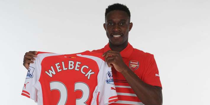 Arsenal FC Unveil New Signing Danny Welbeck