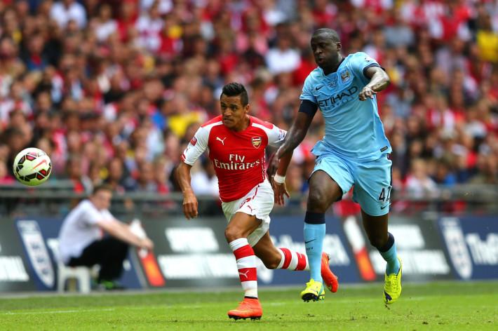 Manchester+City+v+Arsenal-Premier League