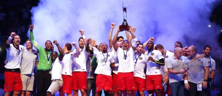 PSG handball_vainqueur du trophée des champions 2014