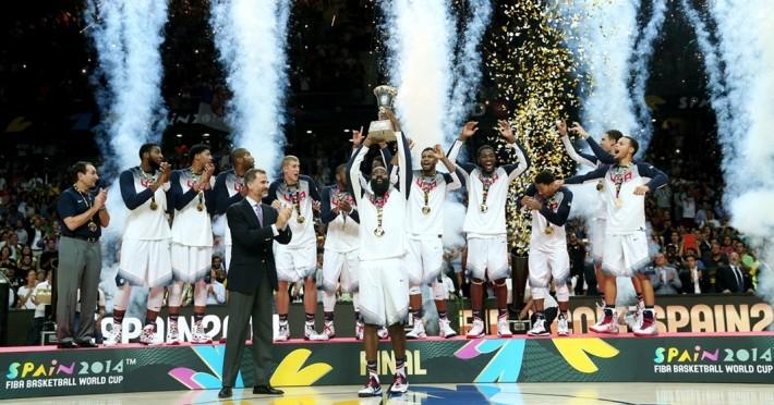 Team USA_vainqueur de la coupe du monde FIBA, Espagne 2014