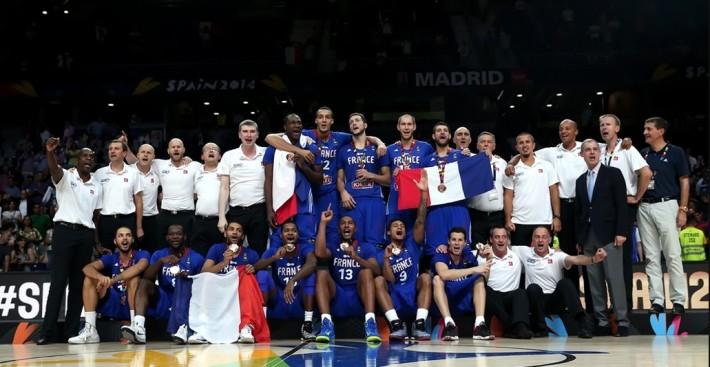 france medaille de bronze à la coupe du monde fiba_espagne 2014