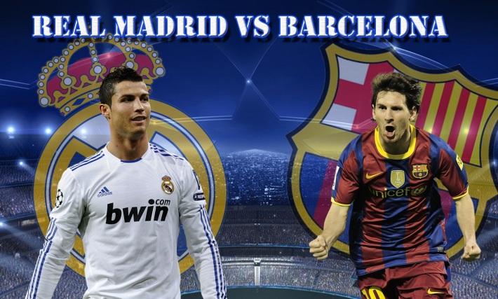 Clasico Real v Barça
