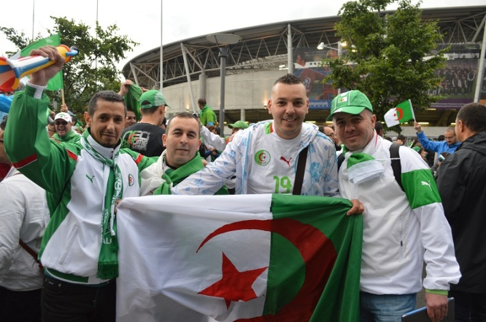 Supporters algériens nvo