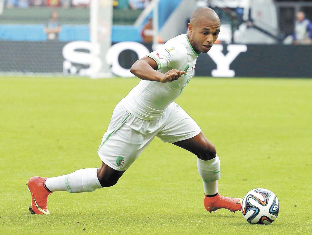 Yacine Brahimi L infatigable dribbleur Africa Top Sports