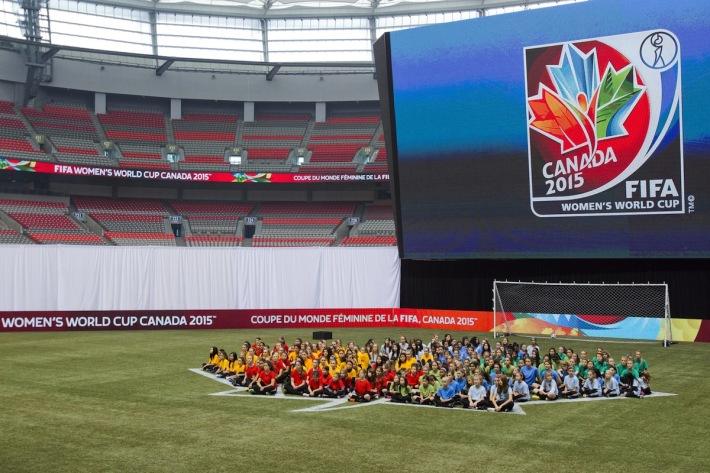 FIFA Women's World Cup Canada 2015 Official Emblem Launch