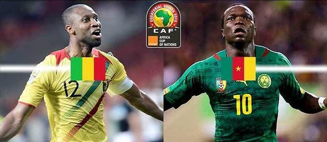 CAN 2014-Mali-Cameroun