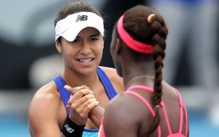 Heather Watson sort Slone Stephens au 2e tour hobart