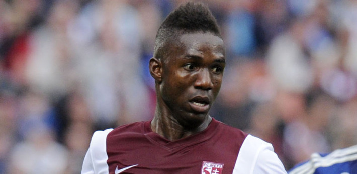 FOOTBALL : Metz vs Lyon - Ligue 1 - Championnat de France 2014 / 2015 - 31/08/2014 -