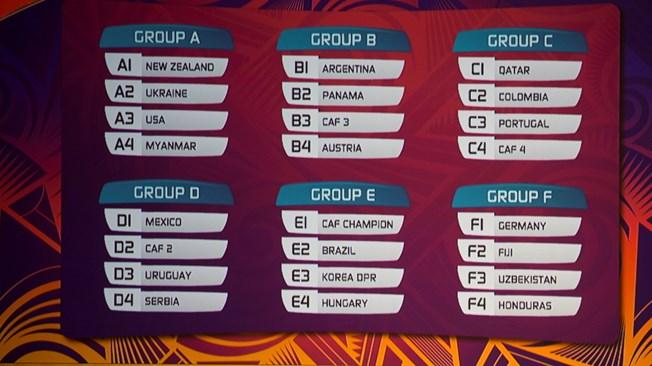 Coupe du monde u20 le tirage au sort effectu sans les - Tirage au sort coupe du monde rugby 2015 ...