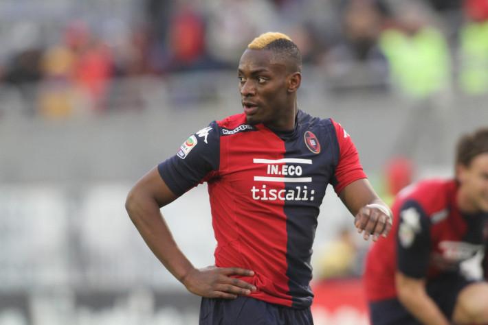 Cagliari+Calcio+Paul-José Mpoku