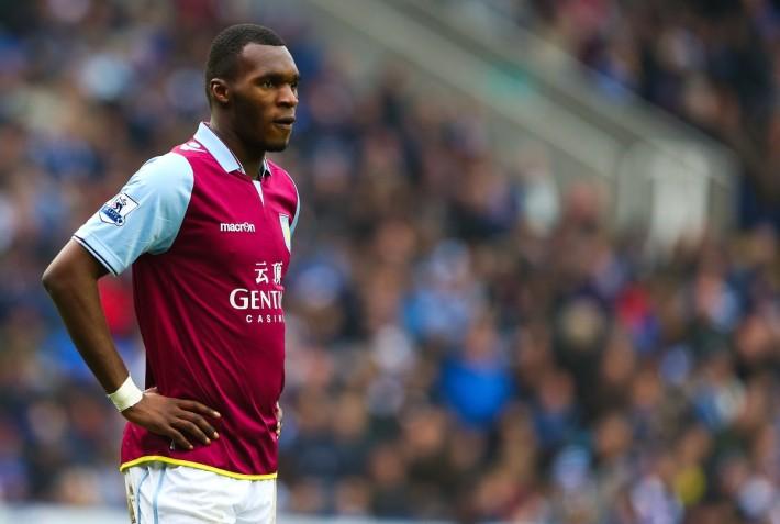 Christian Benteke of Aston Villa