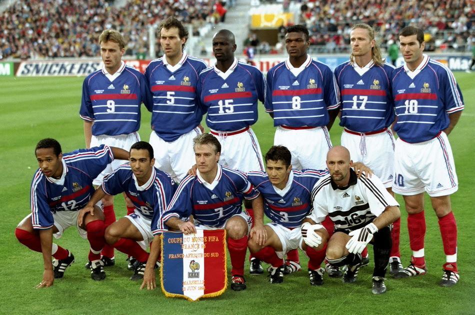France desailly thuram zidane deschamps hollande rend hommage aux h ros de 98 africa top - Maroc coupe du monde 1998 ...