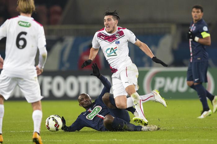 FOOTBALL : PSG vs Bordeaux - 1/16e coupe de France - 21/01/2015