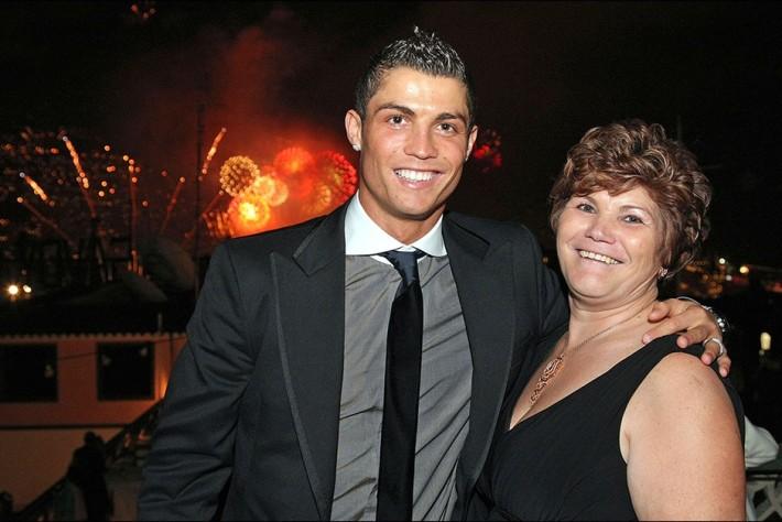 Ronaldo et maman
