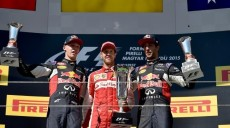 Daniil Kvyat_Sebastian Vettel_Daniel Ricciardo