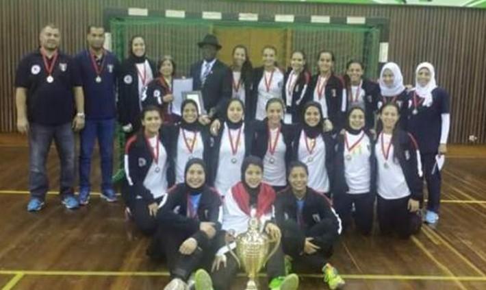 egypte championne d'afrique cadet de handball féminin 2015