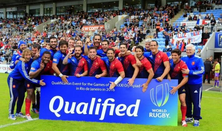 france rugby a 7 qualifiee pour les jo 2016
