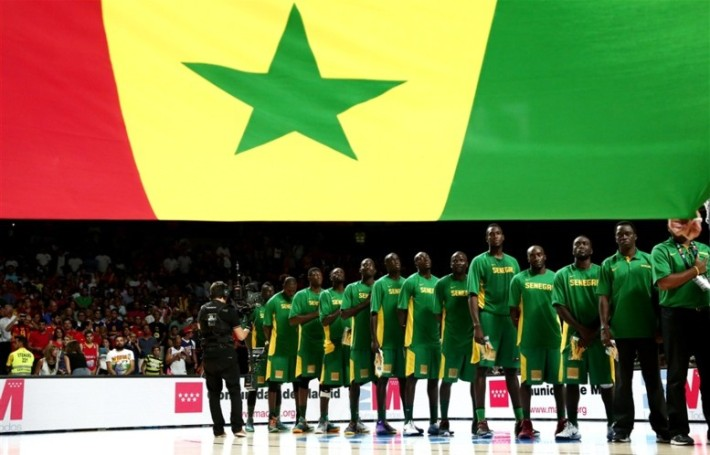 lions du senegal baskeball