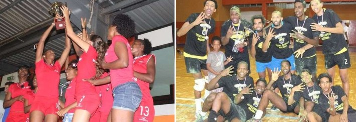 ABC da Praia et Atlético de Mindelo_champions du cap vert de volleyball