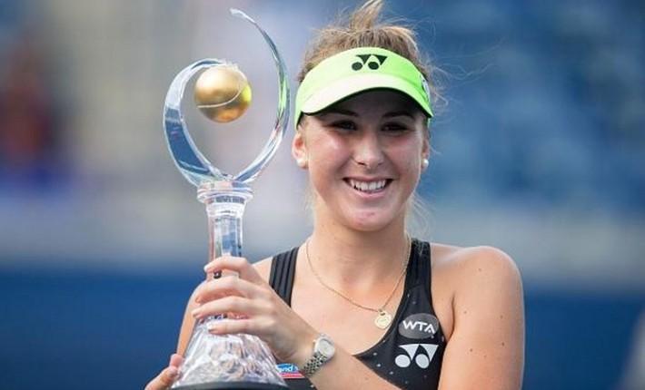 belinda bencic remporte la rogers cup 2015