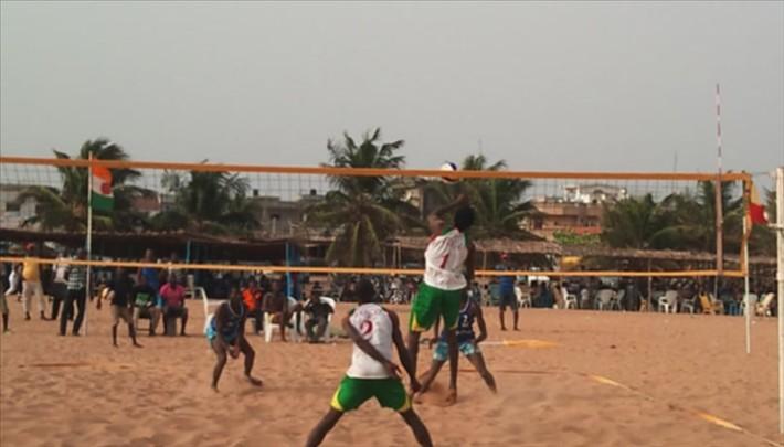 Beach volley ja