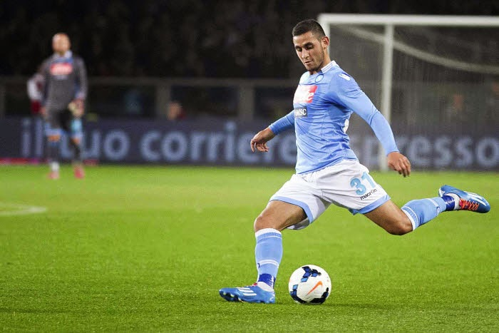 Faouzi Ghoulam - 17.03.2014 - Torino / Naples - 28eme journee de SerieAPhoto : Aldo Liverani / Icon Sport *** Local Caption ***