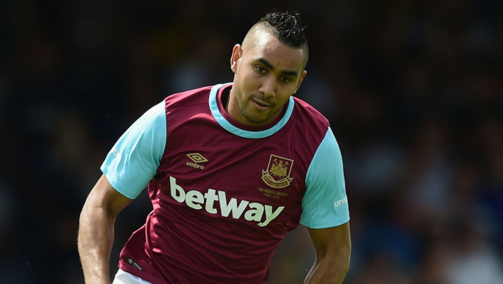 SOUTHEND, ENGLAND - JULY 18:  Dimitri Payet of West Ham United in action during the pre season friendly match between Southend United and West Ham United at Roots Hall on July 18, 2015 in Southend, England.  (Photo by Jamie McDonald/Getty Images)