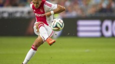 Anwar El Ghazi of Ajax during the Dutch Eredivisie match between Ajax Amsterdam and Heracles Almelo at Amsterdam Arena on September 13, 2014 in Amsterdam, The Netherlands. Ajax Amsterdam v Heracles Almelo Dutch Eredivisie 2014/2015 xVIxxIVx PUBLICATIONxINxGERxSUIxAUTxHUNxPOLxJPNxONLY 2645245  Anwar El Ghazi of Ajax during The Dutch Eredivisie Match between Ajax Amsterdam and Heracles Almelo AT Amsterdam Arena ON September 13 2014 in Amsterdam The Netherlands Ajax Amsterdam v Heracles Almelo Dutch Eredivisie 2014 2015 xVIxxIVx PUBLICATIONxINxGERxSUIxAUTxHUNxPOLxJPNxONLY