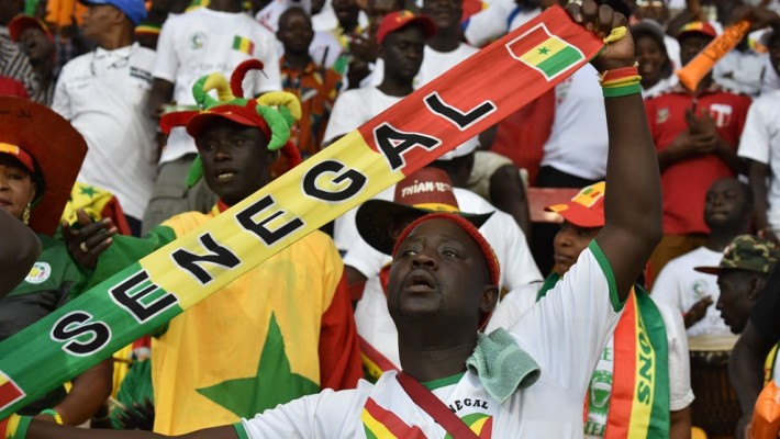 Supporters-Senegal-Football