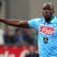 Italian Soccer Serie A - Inter vs Napoli - Milano - San Siro Stadium - 19/10/2014 Kalidou Koulibaly - napoli - fotografo: Fabrizio Forte