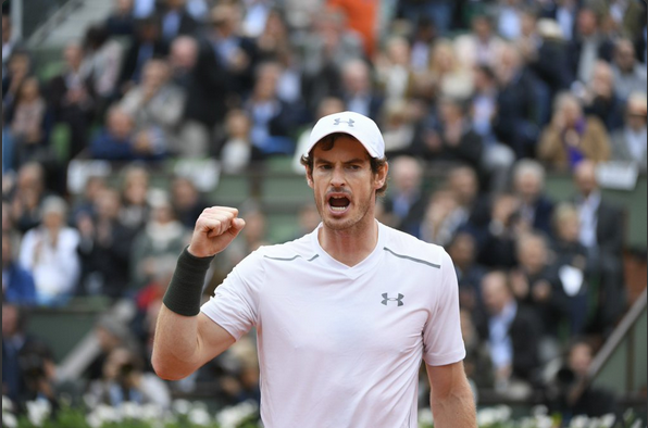 Andy Murray-Roland-Garros
