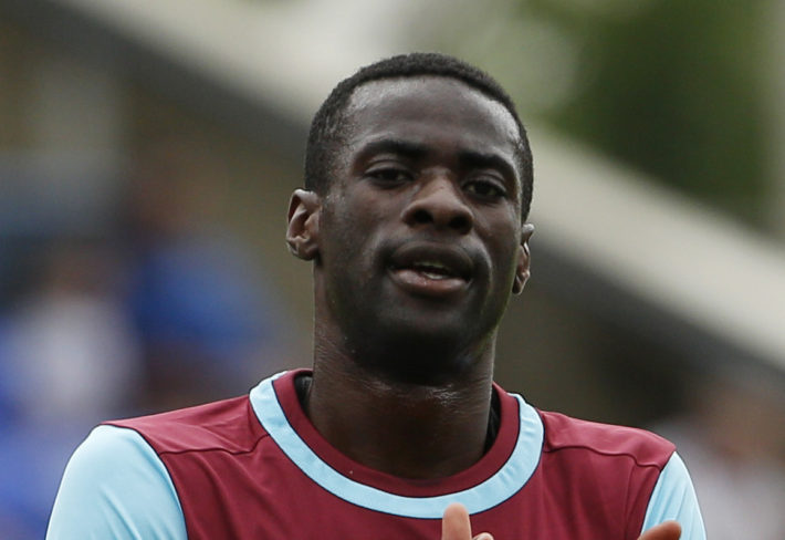 Football - Peterborough United v West Ham United - Pre Season Friendly - ABAX Stadium - 15/16 , 11/7/15 West Ham United's Pedro Obiang Action Images via Reuters / Craig Brough  EDITORIAL USE ONLY.
