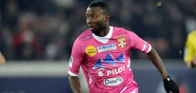 Cedric MONGONGU - 08.12.2012 - PSG /Evian Thonon - 16e journee de Ligue 1 Photo: Amandine Noel / Icon Sport