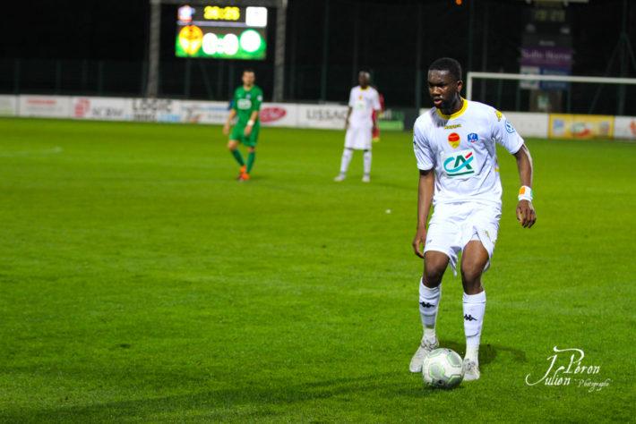 Maillot Domicile AS Monaco Jean-Eudes AHOLOU
