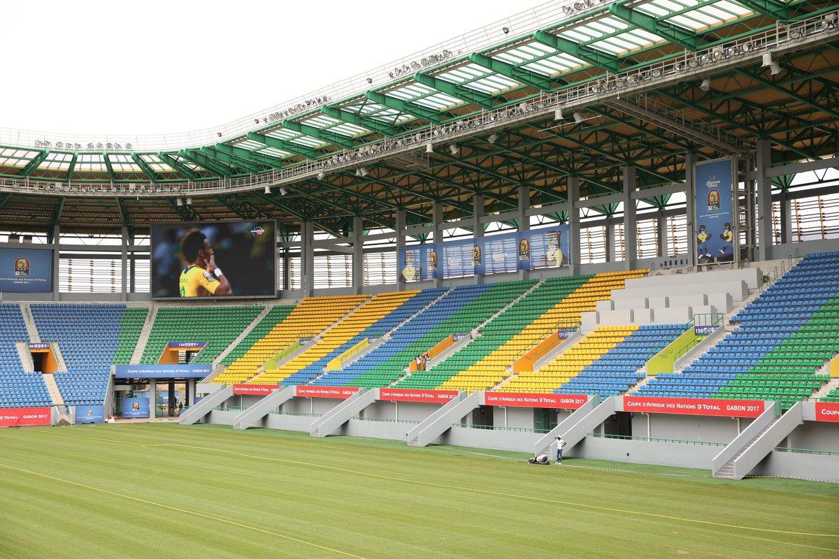 Can 2017 les stades d 39 oyem et port gentil inaugur s - Consulat de france port gentil ...