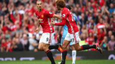 fellaini et ibra
