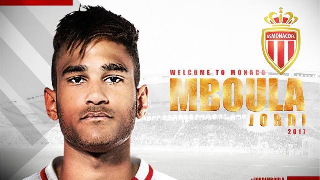 Maillot Extérieur AS Monaco Jordi MBOULA