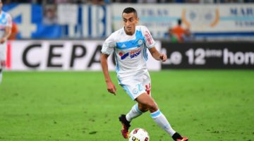 Saif Eddine Khaoui of Marseilleduring the football Ligue 1 match between Olympique de Marseille and Toulouse FC at Stade Velodrome on August 14, 2016 in Marseille, France. (Photo by Dave Winter/Icon Sport)