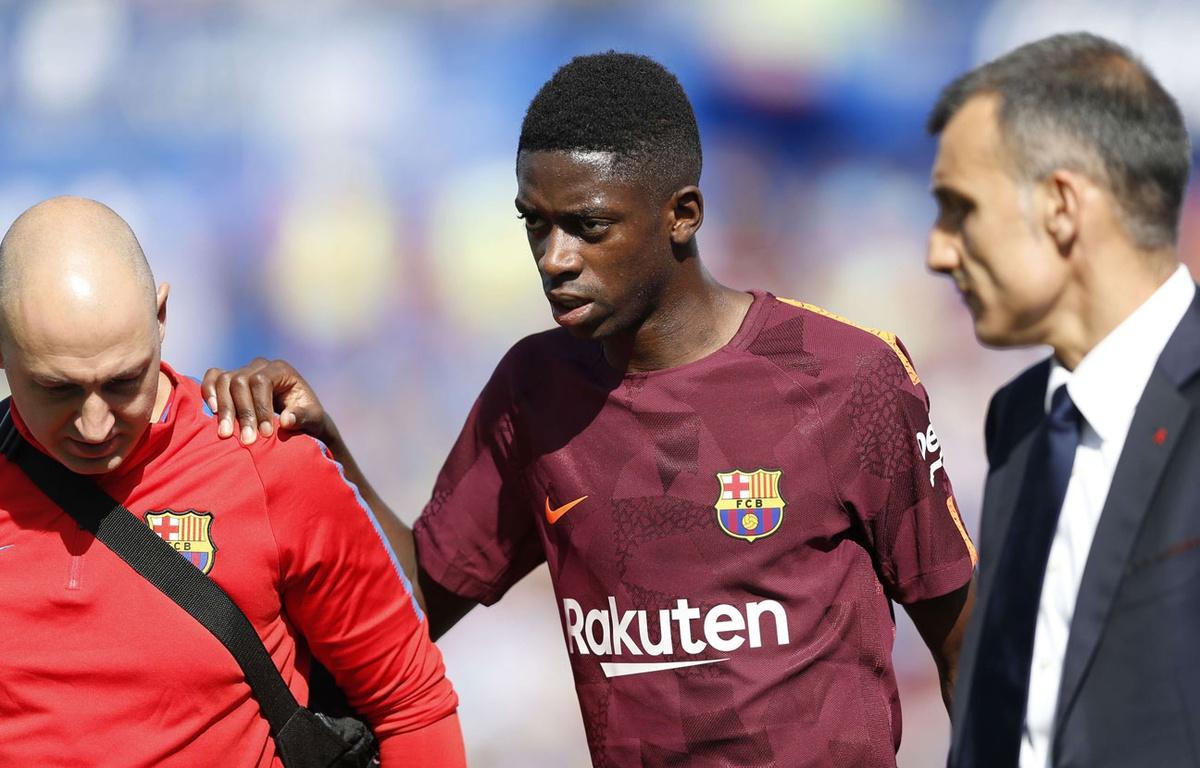 FC Barcelone Ousmane Dembélé sera opéré ce mardi