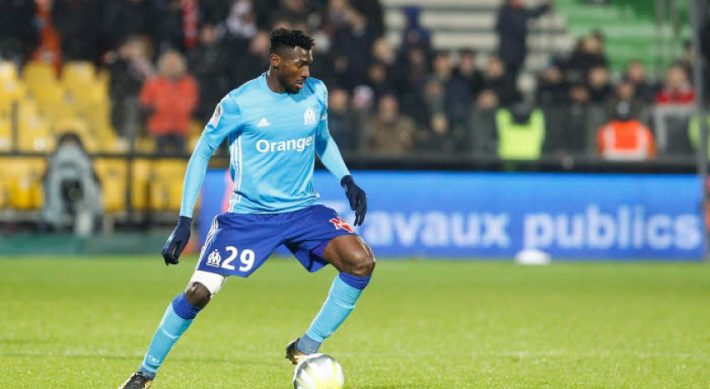Andre Frank Zambo Anguissa of Marseille during the Ligue 1 match between Metz and Olympique Marseille at Stade Saint Symphorien on November 29, 2017 in Metz, . (Photo by Fred Marvaux/Icon Sport)