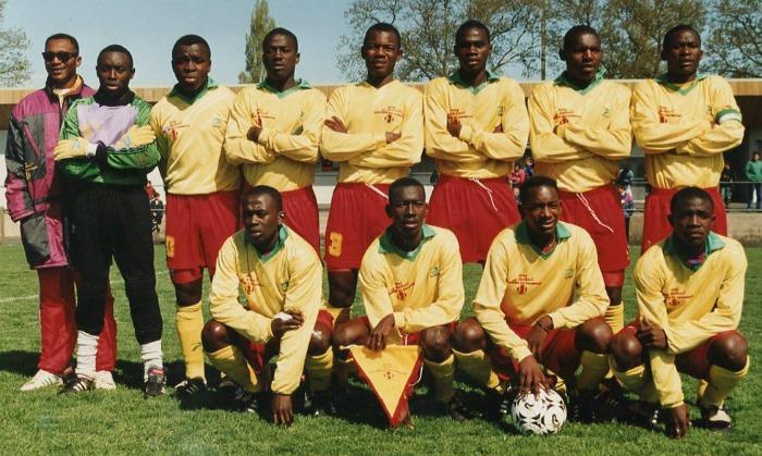 Le Cameroun à Montaigu en 1995