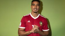 VORONEZH, RUSSIA - JUNE 10:  Nabil Dirar of Morocco poses for a portrait during the official FIFA World Cup 2018 portrait session at  on June 10, 2018 in Voronezh, Russia. (Photo by Dan Mullan - FIFA/FIFA via Getty Images)